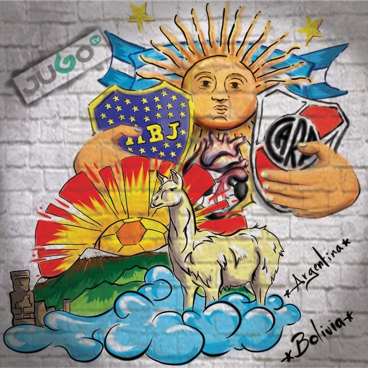 StreetArt Argentina Bolivia #somosJUGOtv