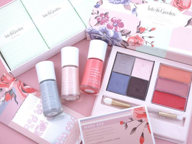 Mary Kay Spring 2016 Into the Garden Collection: Review and Swatches