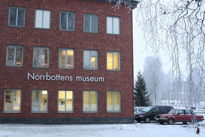 If you've just arrived in Luleå and want to get an overview of the region's history and culture, the best place to visit is Norrbottens Museum.