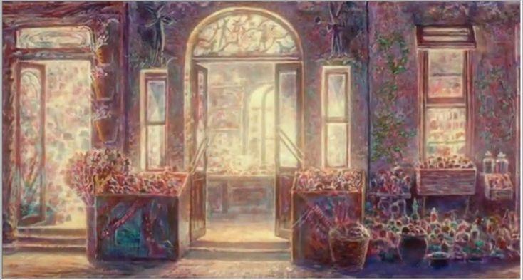 空中庭園と幻の飛行船: 『耳をすませば』に影響を与えた画家、井上直久さんと美しい『イバラード』の世界