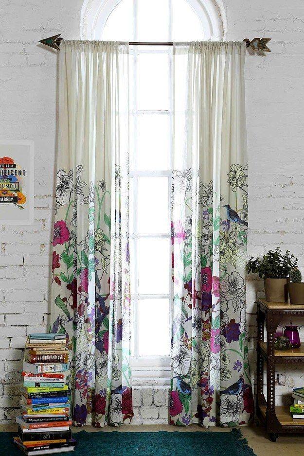 Las cortinas pueden ser todo menos aburridas: | 17 Ideas coloridas para llenar de vida tu casa