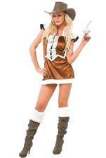 FDC Wild West Cowgirl Fancy Dress Costume [Sherrif] Size 8-10