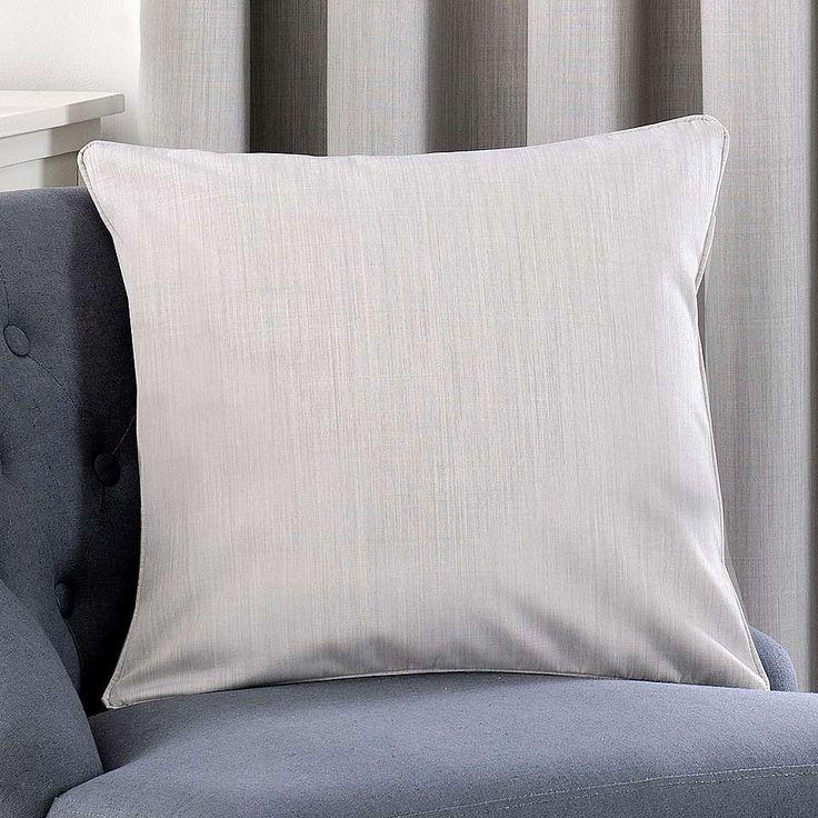 Solar Grey Cushion Cover | Dunelm
