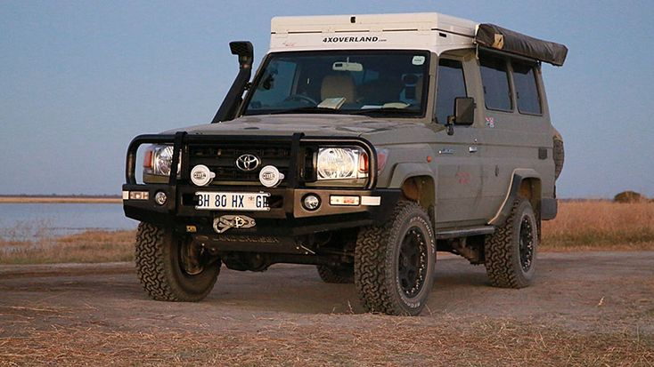 Land Cruiser Troop carrier for sale in the UK