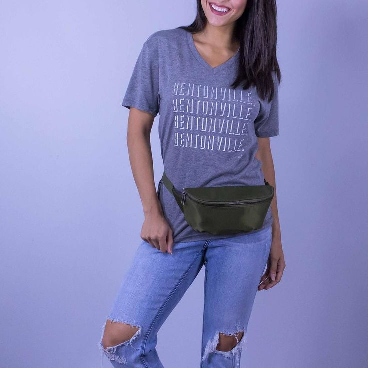 We are Bentonville!! Loud and proud in this cute @shopwritten tee! Shop online at http://ift.tt/2uBNtYB Bentonville Tee in Grey V-Neck $34. Online  in-store. The Love Club Fanny Pack $34. in-store only. My Cheeky Boyfriend Denim $82. in-store only.  #WearElysianDaily http://ift.tt/2uXZ46W We are Bentonville!! Loud and proud in this cute @shopwritten tee! Shop online at http://ift.tt/2uBNtYB Bentonville Tee in Grey V-Neck $34. Online  in-store. The Love Club Fanny Pack $34. in-store only. My…