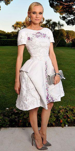 Diane Kruger - CannesChanel, Cannes Film Festivals, Celebrities Style, Beach Style, Red Carpets, Aid Gala, Fashion Blog, Benefit Cinema, Diane Kruger