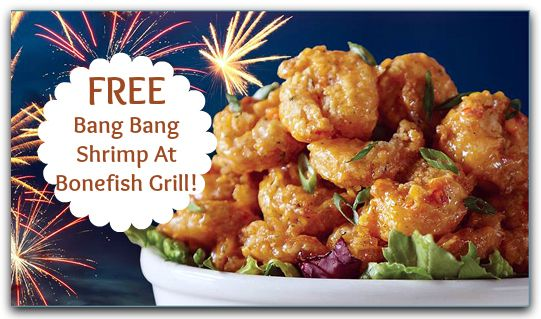 Bonefish Grill Coupon | FREE Bang Bang Shrimp! http://takecoupons.net/restaurantscoupons/item/bonefish-grill-coupons http://www.pinterest.com/AnnaCoupons/chick-fil-a-coupons/