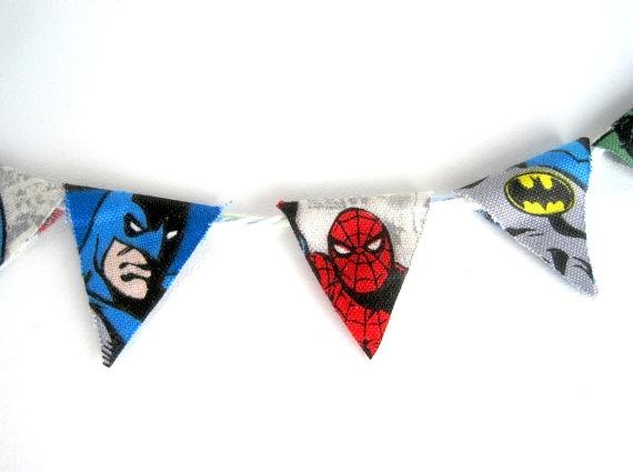 Superhero party !!!