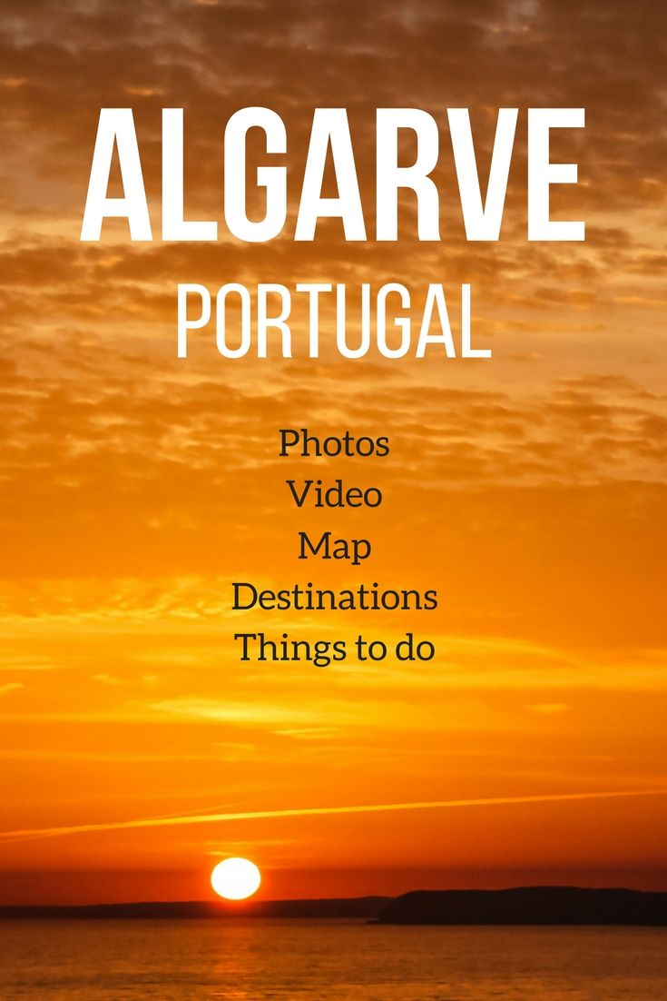 Traveling the the Algarve Portugal? - Wondering what to see and do?- Map, Best beaches, top things to do, destinations, accommodations... With Photos and video! | Portugal Algarve | Algarve Beach | Portugal things to do