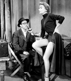 Joan Crawford in Torch Song (great legs, and she was 49...)