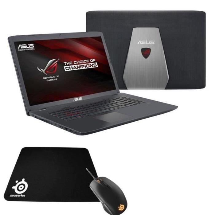 "899.99 € ❤ Top #Gaming - #ASUS ROG #PC #GAMER portable #RepublicOfGamers avec écran 17.3"" HD + Souris gaming et tapis #Steelseries ➡ https://ad.zanox.com/ppc/?28290640C84663587&ulp=[[http://www.cdiscount.com/informatique/ordinateurs-pc-portables/asus-rog-pc-gamer-gl742vw-ty134t-steelseries-sou/f-10709-bunl742vwty134t.html?refer=zanoxpb&cid=affil&cm_mmc=zanoxpb-_-userid]]"