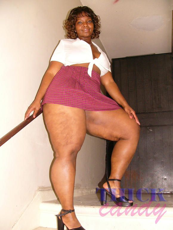 Fat Legged Woman 37