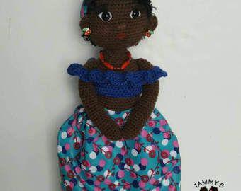 18  hecha a mano muñeca de unicornio americano africano del