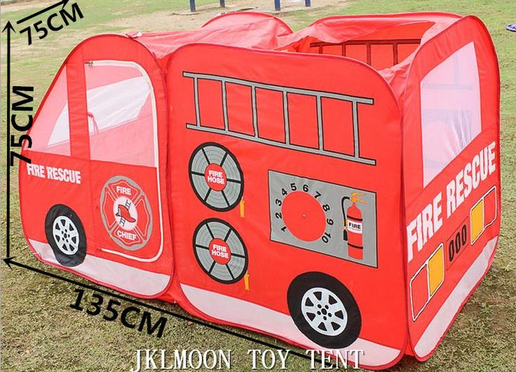 Car Model Play Game House Children Tent 136*75*75 cm, Cute Large Play Tents for Kids Birthday Gift FREE SHIPPING