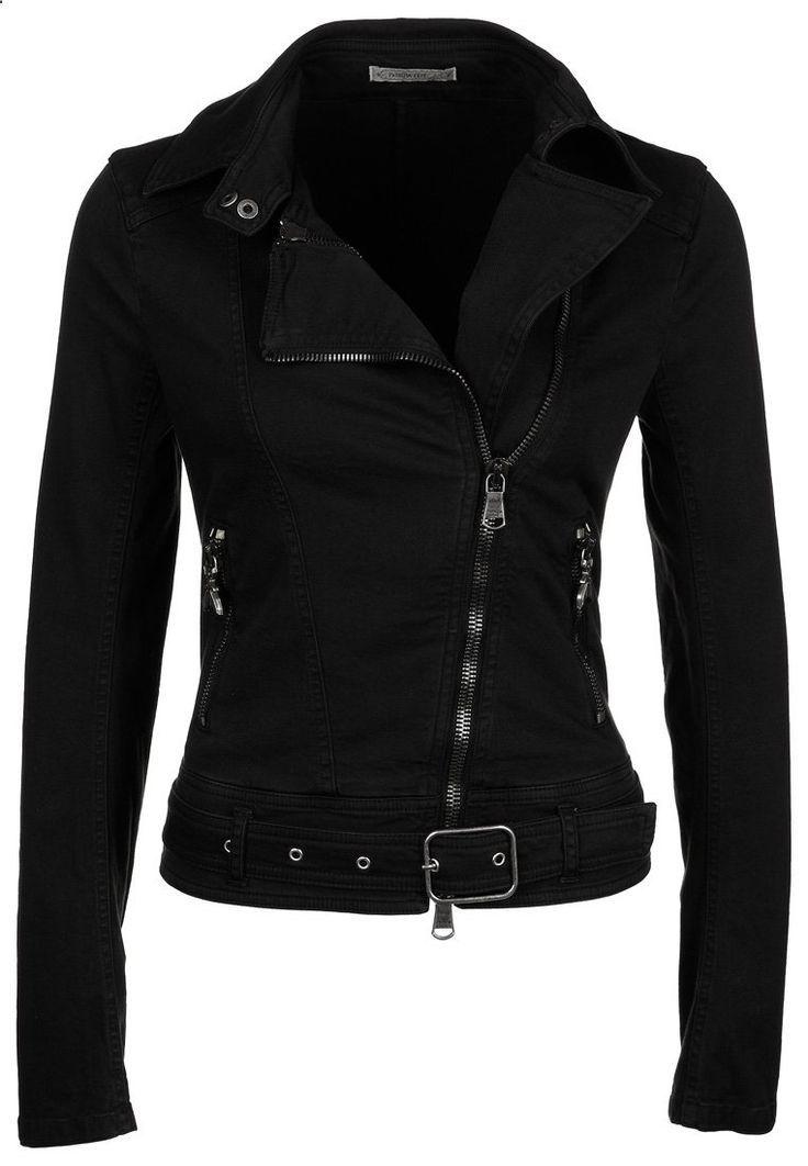 black denim jacket   Patrizia Pepe