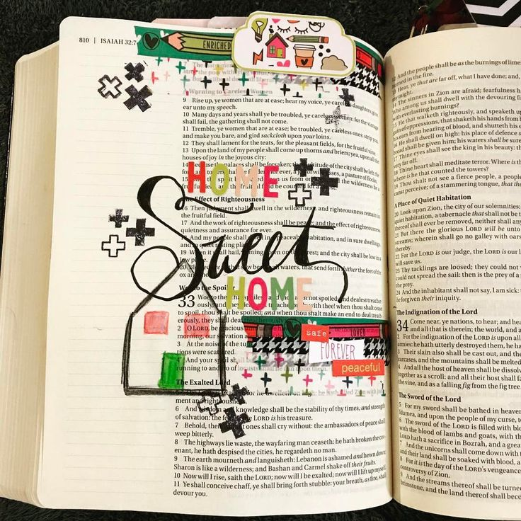 """24 Likes, 2 Comments - Cassi  Betker (@bright_forest) on Instagram: """"Dwell in peace, Isaiah 32:18 is a great prayer to pray over your home.  #if_doodlestoliveby…"""""""