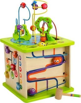 Country Critters Play Cube   HAPE   Shop online at Direct Toys NZ