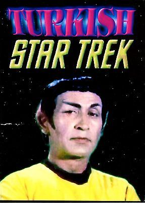 Turkish Star Trek DVD with English Subtitles Still sealed in plastic, Fast Shipp