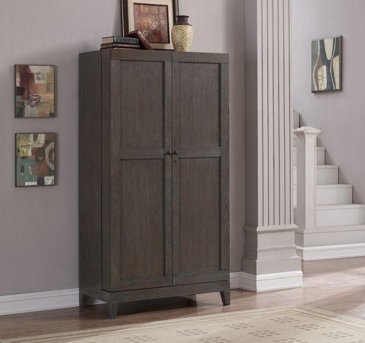 Fairfield Wine Cabinet in Oak by American Heritage Billiards - Home Gallery Stores