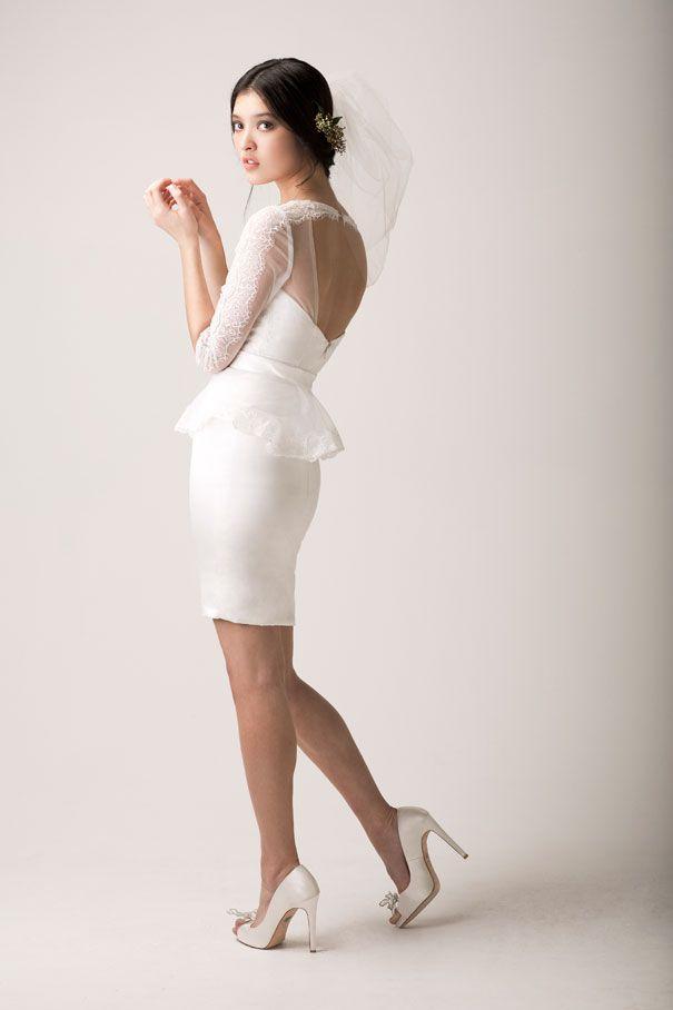 1378 best Short Wedding Dresses images on Pinterest | Short bridal ...