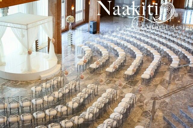 Circle Seating Arrangement For Beach Wedding: Half Circle Seating For Wedding Ceremony
