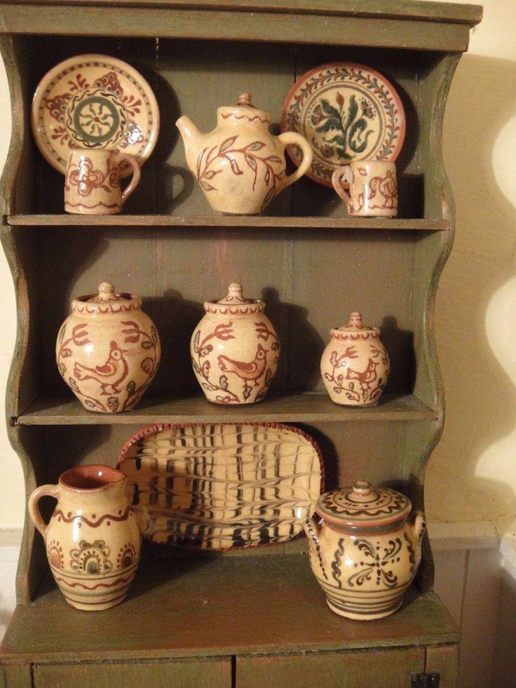 Jane Graber, IGMA artisam - yellow redware