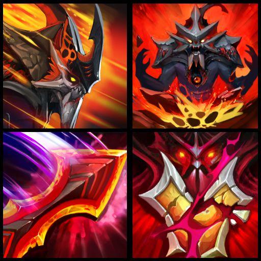 Magma Manta (Custom Ability Icons)  - Slardar