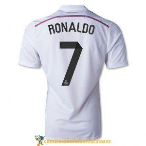 Camisetas real madrid RONALDO futbol casa 2014-2015 @ http://www.camisetadefutbolbaratases.com/la-liga-camiseta-real-madrid-c-50_56.html