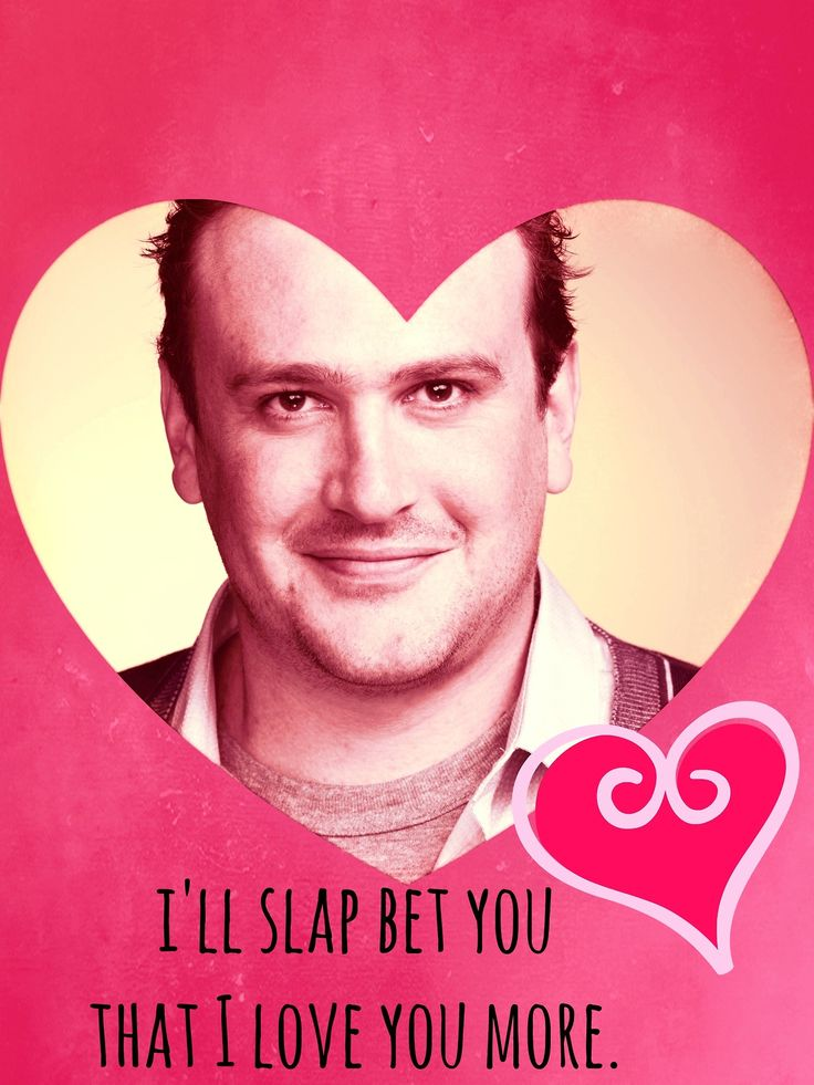 HIMYM Valentineu0027s Day Card - how-i-met-your-mother Fan Art - valentines day cards