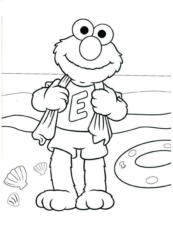 20 best Elmo Coloring Pages images