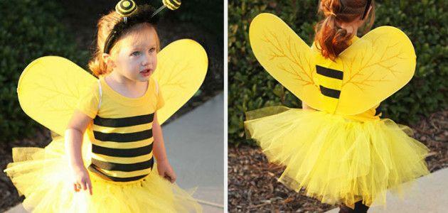 Disfraces de animales para niños: abeja #Carnaval #disfraces #DIY