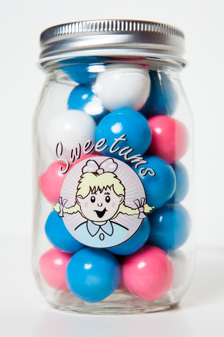 SWEETUM'S Gumball Candy Jar, Pawnee's Finest, as featured on PARKS & RECREATION