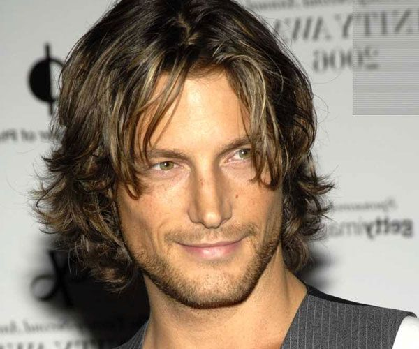 Boy Hairstyles For Long Curly Hair: 1000+ Images About 1 Men - Long On Pinterest