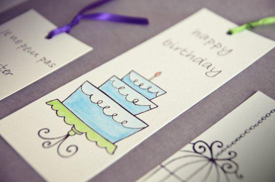 #cake  #bookmarks #handmade by Voila HandMade Pronti, Partenza… Via! | Voilà