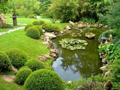 Arte y jardiner a dise o de jardines estanques y jardines for Jardines acuaticos
