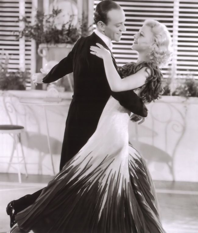 Ginger Rogers...arguably Fred Astaire's best dance partner. She's definitely my favorite!