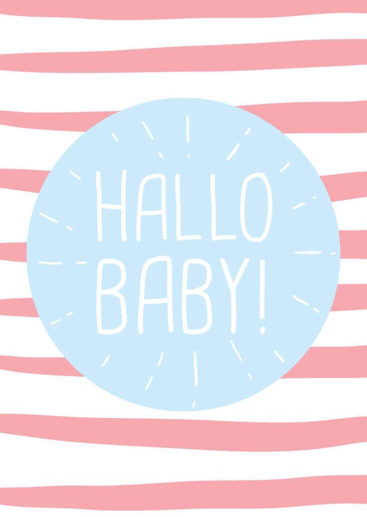 ♥ Babygrußkarten ➳ 20 schöne, kostenlose Sprüche ♥