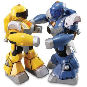 R/C Fighting Robots - Mimic Your Motion!
