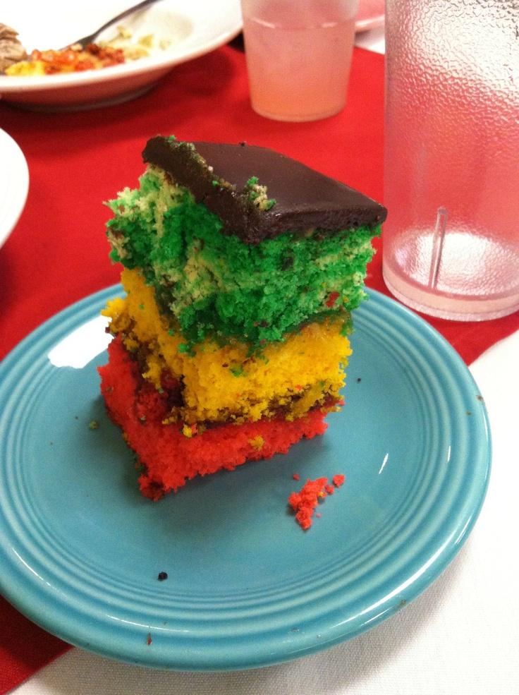 rasta cake ^_^ YUMMY