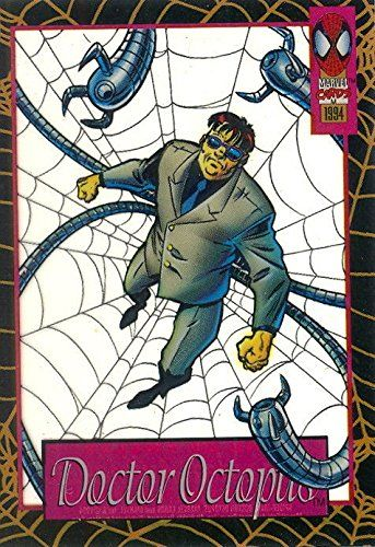 SPIDER-MAN AMAZING 1994 FLEER SUSPENDED ANIMATION INSERT CARD 9 OF 12 DR OCTOPUS @ niftywarehouse.com #NiftyWarehouse #Spiderman #Marvel #ComicBooks #TheAvengers #Avengers #Comics