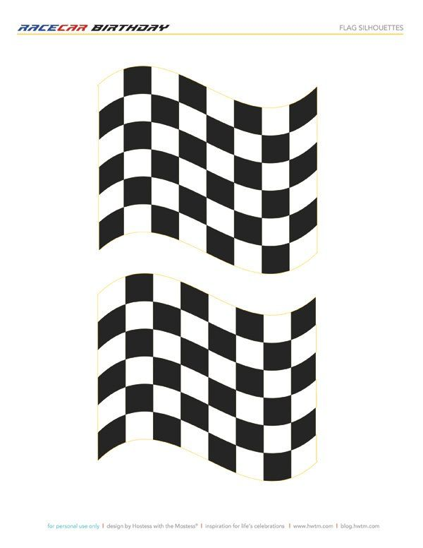 Free Printable Racing Flags