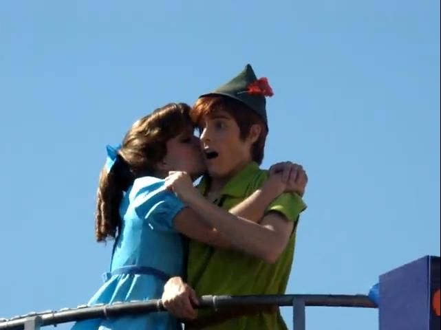 Kisses for Peter. This being my Disney board, I will refrain from making any innapropriate joke. (And I thought of MANY.)