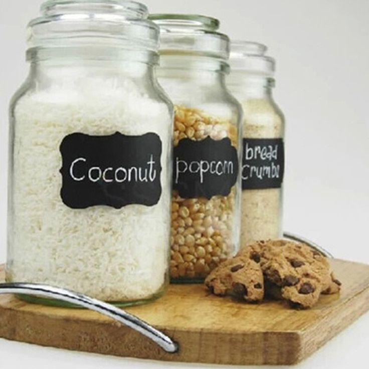 Jar Labels 36pcs / Set