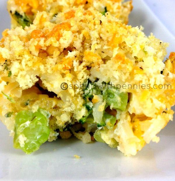 Cheesy Broccoli Rice Cups