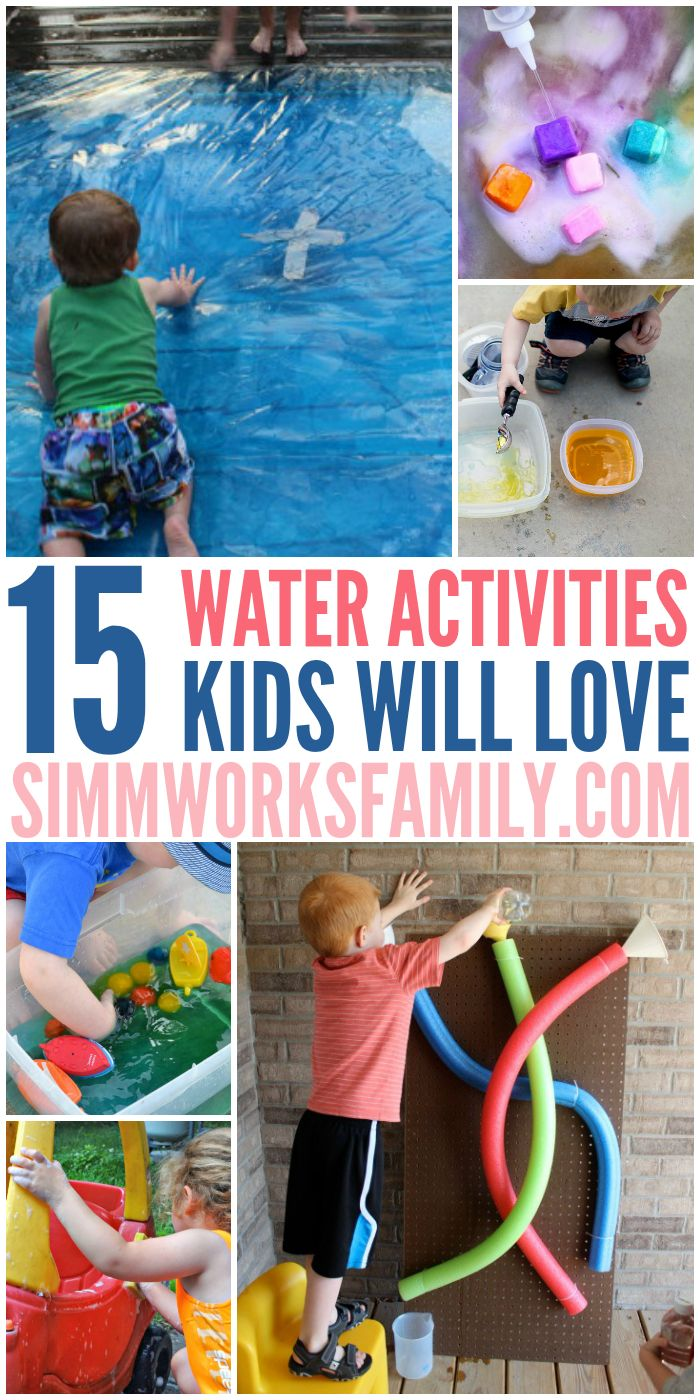 Water. Such a simple thing however when my kids start playing with it they go crazy. Maybe it's like the cardboard box phenomenon. Hand a kid a cardboard box and they'll be entertained for hours. Give a kid a container full of water and the same thing happens. Below are a few awesome ideas on …
