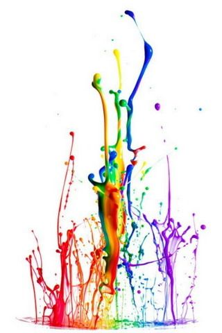 Rainbow Color Splash Background Wallpaper Download HD | Best Games ...