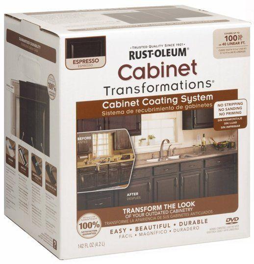 Kitchen Cabinet Restoration Kit: Rust-Oleum Cabinet Refinishing Kit