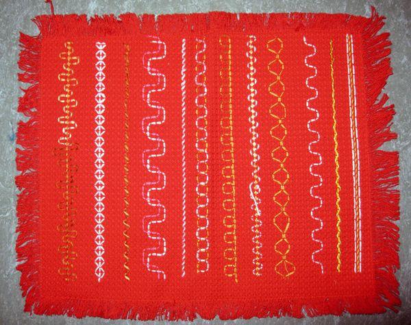 Vohvelikangaskirjailun malliliinoja (4) Vieritä kuvaa alaspäin. http://www.kolumbus.fi/mm.salo/Pujottelu.html