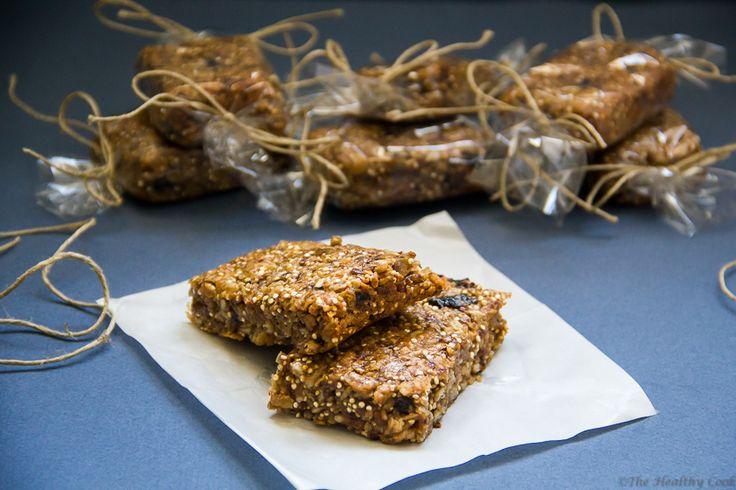 Quinoa & Ginger Granola Bars – Μπάρες Δημητριακών με Κινόα και Τζίντζερ