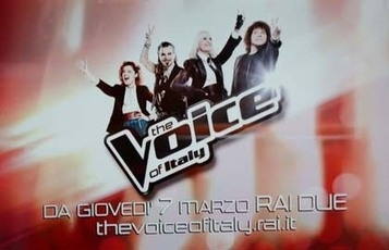Noemi, Pelù, Carrà, Cocciante... The voice of Italy! 2013